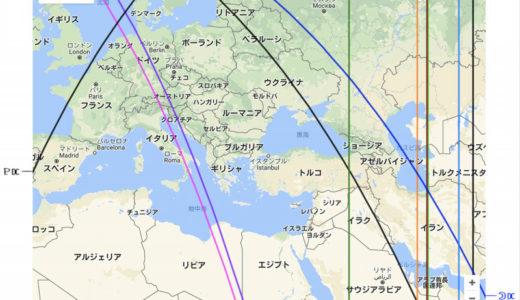 旅好きのお供、アストロマップ/ワーホリ率が高いのは太陽柔軟宮。じゃあ青年海外協力隊率は?