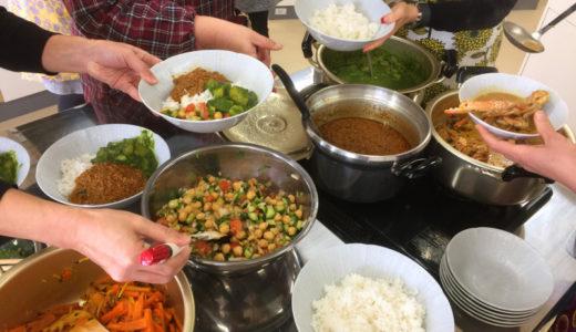 とにかく明るい蟹カレー会レポ@三河(みんなでインドカレーを作って食べる会)
