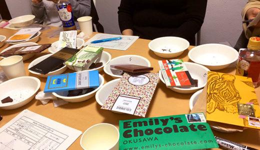 【イベントレポ】チョコレート・テイスティング会、美味しく終了しました!